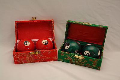 Qi Gong Kugeln Klangkugeln Feng shui Ying-Yang Geschenk meditation