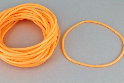 Orange set pack lot of 30 jelly rubber gummy bangle bracelet 80s - 80s Jelly Bracelets