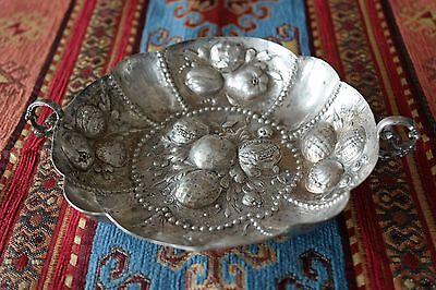An Antique German Hanau Silver Sweetmeats Bowl, circa 1900