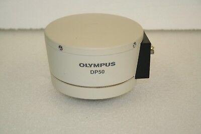 Used Original Good Olympus Dp50 Microscope Camera
