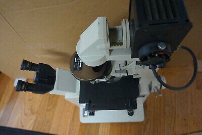 Nikon Diaphot Inverted Fluorescence Phase Contrast Microscope W4 Objectives