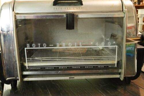 Vintage Roto-Broil 400 Rotisserie-Broiler-Grill