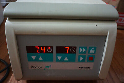Heraeus Micro Centrifuge Biofuge Pico 13000 Rpm Lab Microcentrifuge Lab Digital