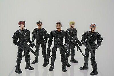 Action Figure Squad Custom Lot Spec Ops 3 3/4 3.75 Seals Army Military 1/18