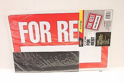Cosco For Rent Sign Kit - 8 X 12 - Landlord Apartment Room House For Rent