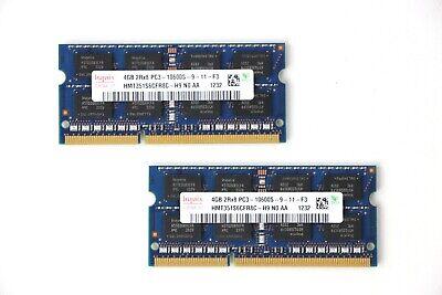 Hynix Kit of 8GB [2x4GB] PC3-10600S DDR3 SO-DIMM 1333MHz RAM Mac Laptop