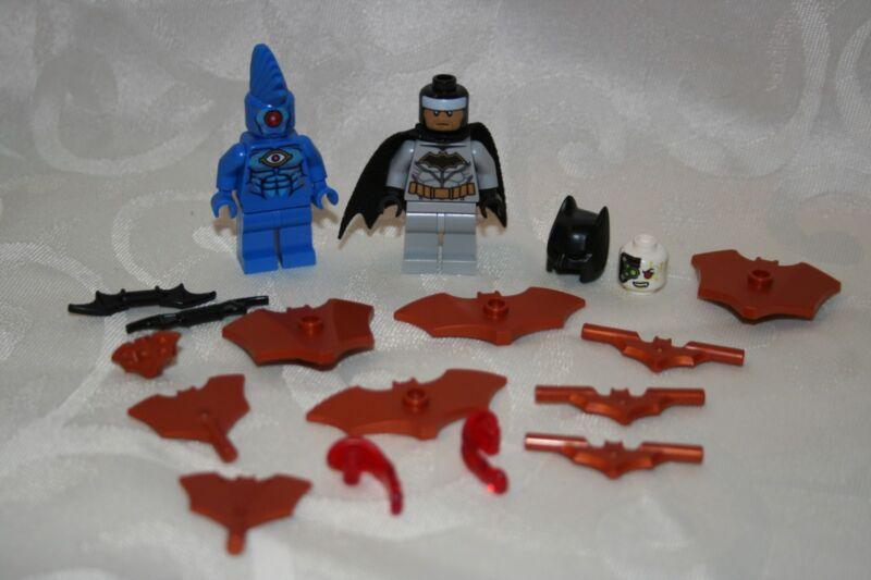 Omac From Set 76111 LEGO Super Heroes Batman II MiniFigure