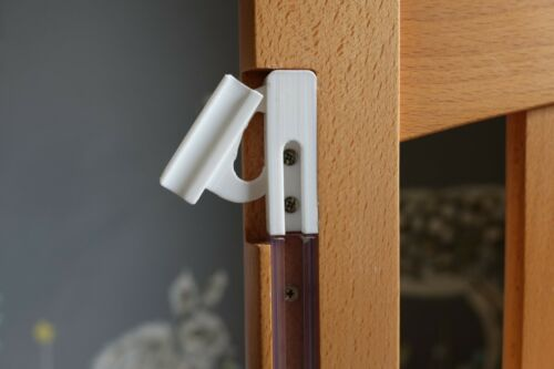 Bedside Cot Fittings, drop latch / Catch Left & Right, spare parts, mothercare