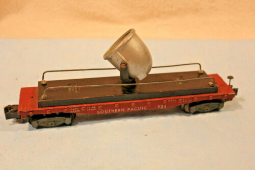 AMERICAN FLYER S GAUGE No.934 SOUTHERN PACIFIC SEARCHLIGHT CAR 1954 ONLY