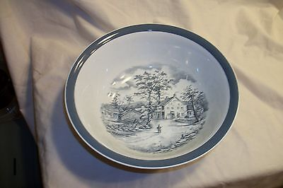 Vintage Alfred Meakin Home in the Country Staffordshire England China Bowl