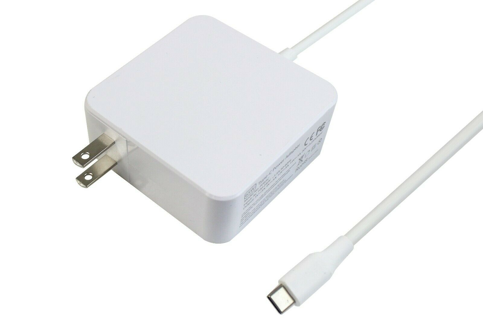61/65W USB C Power Delivery Charger for Apple MacBook Pro/Ai