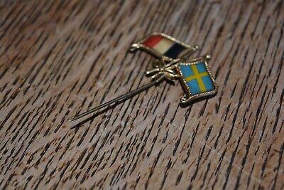 Ancien Insigne, broche, épingle, militaire en métal