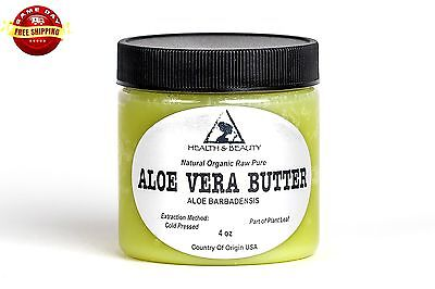 aloe vera butter organic cold pressed raw