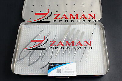 Hand Surgery Basic Set Of Micro Surgical Instruments With Case By Zaman Products