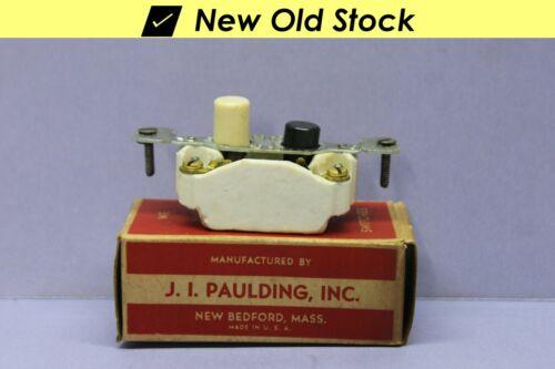 ✅ Vintage Push Button Light Switch, Single-Pole On/Off Porcelain - Paulding