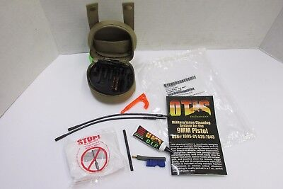 OTIS US MILITARY 9MM CLEANING KIT SYSTEM NEW IN WRAPPER 1 Cleaning Kit