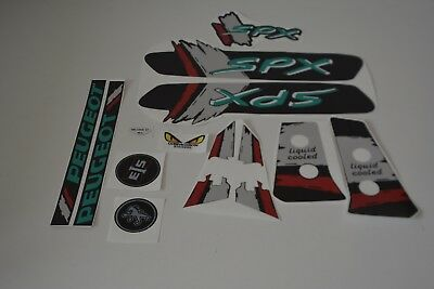 kit autocollant stickers peugeot 103 SPX couleur noir