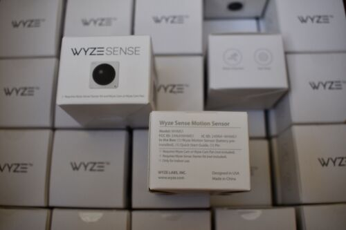 NEW! Wyze Sense Security Motion Sensor WHMS1 Lot