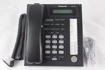 Lot Of 5 Panasonic Kx-t7731 Blk 24 Button Advanced Hybrid System Office Phones