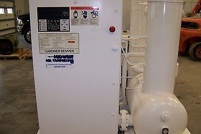 Gardner Denver Eau99g 250 Hp Rotary Screw Air Compressor 1 Yea Airend Warranty