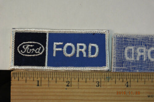 """Ford  Patch  Iron-On Embroidered Patch, 3.5"""""""