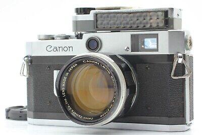[Exc++++] Canon P Rangefinder Film Camera 50mm F1.4 w/ Light meter Japan #168