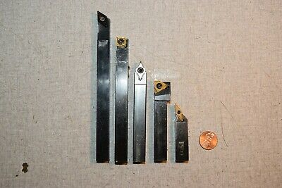 Sandvik Vardex Ceratip Lathe Turning Tool Holders 12 Shank Lot Of 5