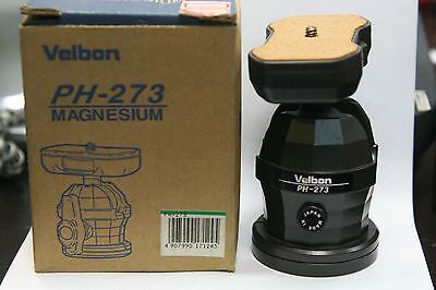 velbon magnesium professional ball socket head  PH 273