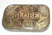 Globe Tobacco Tin