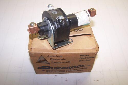 NEW DURAKOOL 35 AMP 480 VAC MERCURY CONTACTOR 120 VOLT COIL BFL-7032