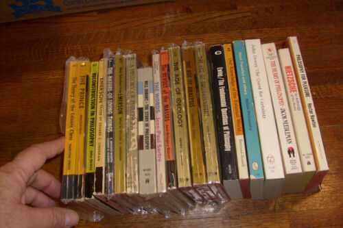 19 OLD PAPERBACKS: PHILOSOPHY & RELATED