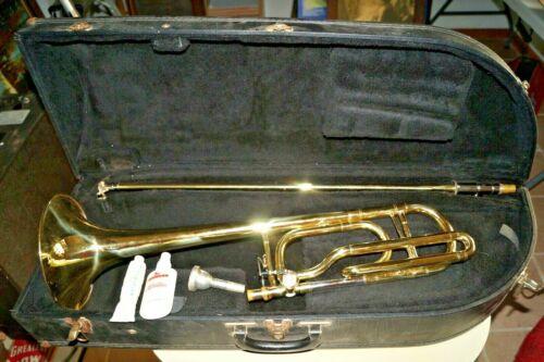 Vintage Getzen Eterna 700 Professional Trombone Brass Musical Instrument BEAUTY!