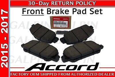 Honda OEM Genuine 2013-2017 Honda ACCORD Front Brake Pad Set  (45022-T2G-A01)
