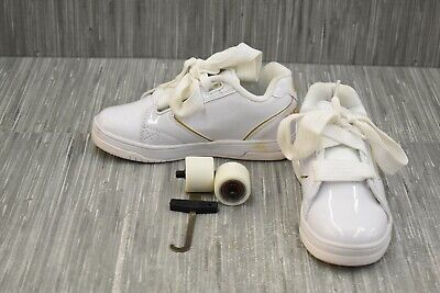 Heelys Propel 2.0 HE100171H Skate Wheeled Shoes, Little Kids Size 3, White