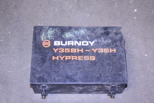BURNDY Y35BH DIES AND METAL CASE