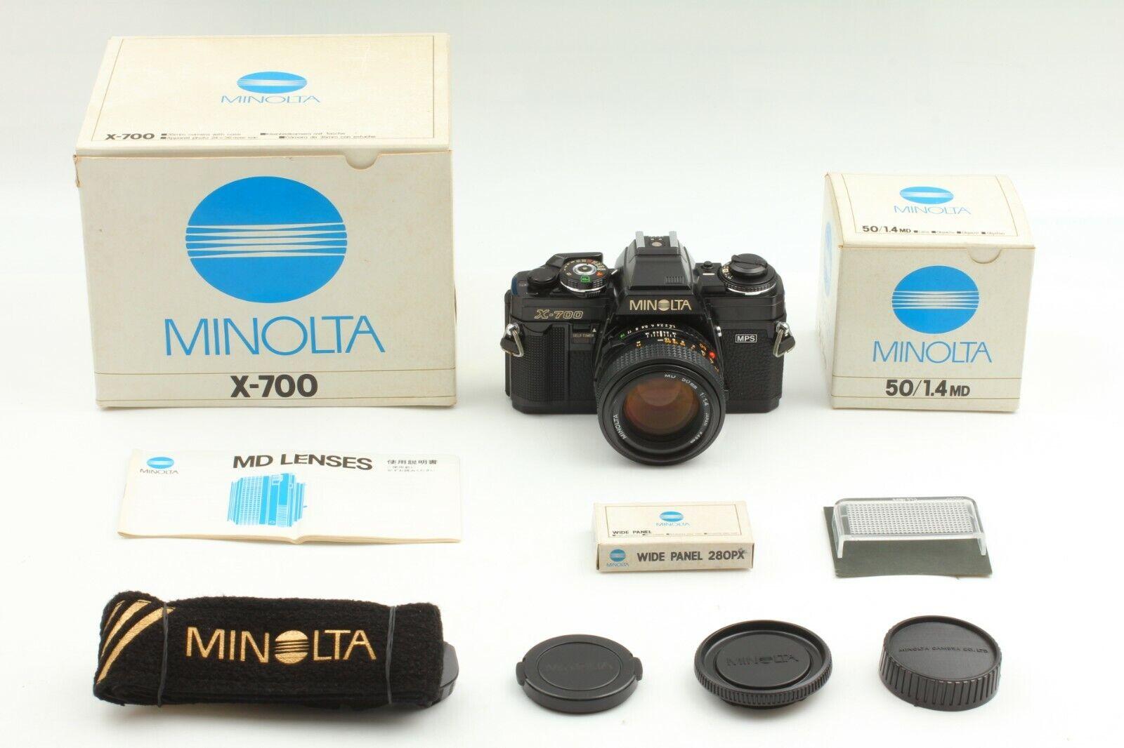 { A. Mint W / Box } Minolta Neu X-700 35mm Film Kamera + Late Md 50mm F/1.4