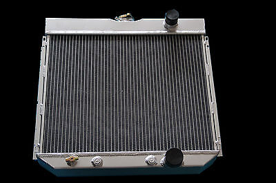 FIT 1967 1968 1969 70 FORD MUSTANG 3 ROWS ALL ALUMINUM RADIATOR 20 Core