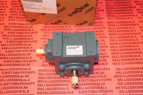 "Dodge 17S10R Gear Reducer Ratio: 10:1 Shaft Diameters: 5/8"" & 7/8"" New"