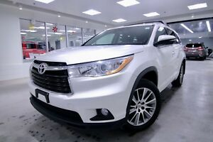 2014 Toyota Highlander XLE, ONE OWNER, CLEAN CARPROOF, NON SMOKE