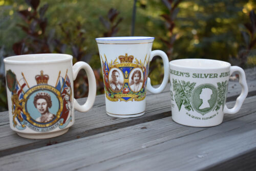Collection of Royal Family Commemorative Mugs