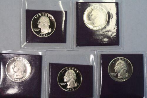 1993 S 25C Proof Washington Quarter **Free Shipping**