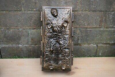 Star Wars Han Solo In Carbonite  Stone Garden Ornament Bronze -Free UK P&P
