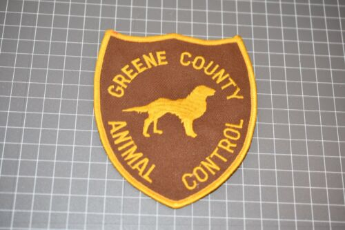 Greene County Mississippi Animal Control Patch (S03-1)
