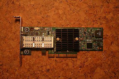 40Gbps low profile Infiniband QSFP Mellanox MHQH19B-XTR PCIe IB ConnectX 2 QDR