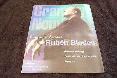 RUBEN BLADES 2000 Grammy ad for Best Latin Pop & SUSAN TEDESCHI Best New