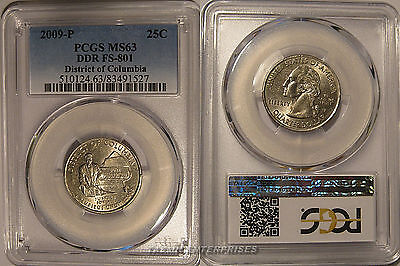 Click now to see the BUY IT NOW Price! 2009 P DISTRICT OF COLUMBIA QUARTER 25C DDR FS 801 PCGS MS63 DOUBLE DIE VARIETY