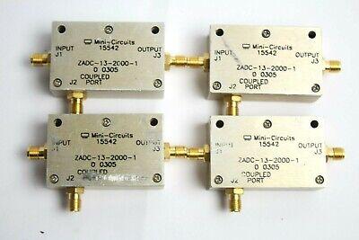 Mini Circuits 15542 Coaxial Mixer Lot Of 4