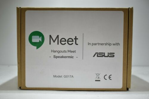 Google Hangouts Meet Conference Meeting SpeakerMic Black G017A~