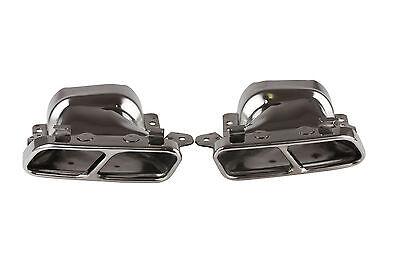 SPORT AUSPUFF ENDROHRE BLENDEN für MERCEDES W221 S300-S600 endrohre V8