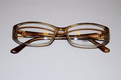New VERA WANG V094 Demo Eyeglass Frames - BLONDE (51-15-134)